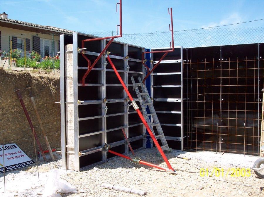 Mode opératoire : panneaux modulaires 6T/m²
