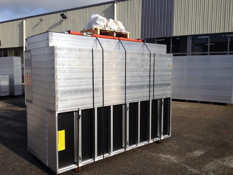 Stockage de coffrages aluminium renforcés Cosmos