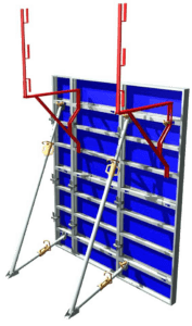 Image 3D de coffrage Aluminium Cosmos et console de service