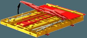 Étape 1 de la notice de montage pour la banche-outil COB 2020 ÉVO 2 COSMOS