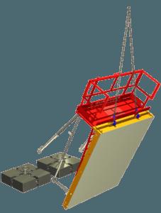 Étape 9 BIS de la notice de montage pour la banche-outil COB 2020 ÉVO 2 COSMOS