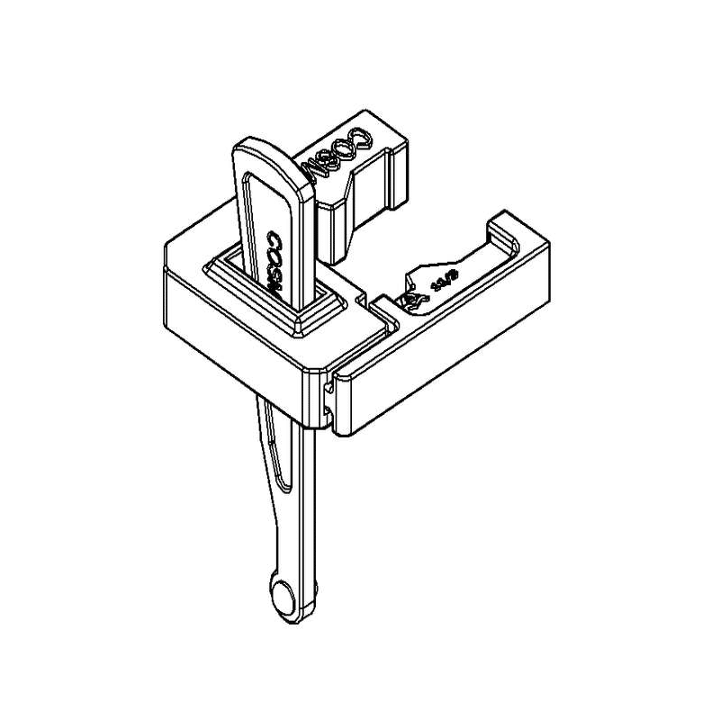 Pince à clavette verticale COSMOS