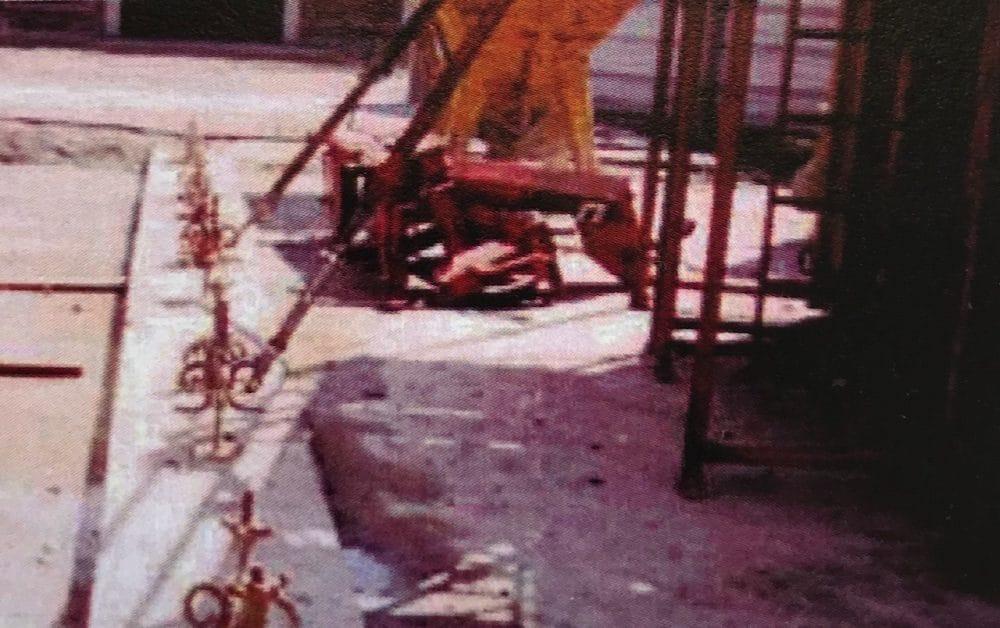 Stabilisation des banches par ancrage sur la construction