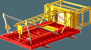 Étape 6 de la notice de montage pour la banche modulaire 8-10-12T/m² COSMOS