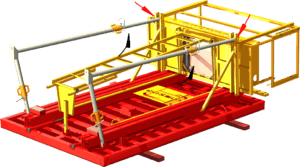 Étape 7 de la notice de montage pour la banche modulaire 8-10-12T/m² COSMOS