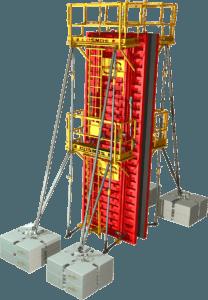 Étape 11 de la notice de montage pour la banche modulaire 8-10-12T/m² COSMOS