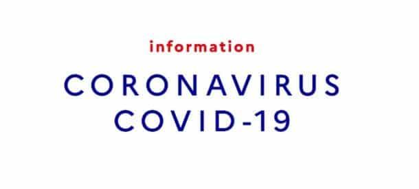 Info COVID-19 : L'organisation de Coffrages COSMOS