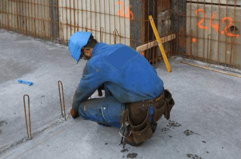Coffrage d'un voile béton banché en 10 étapes